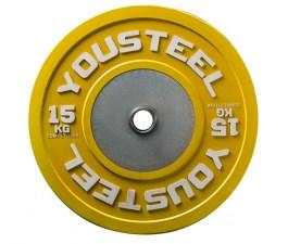 Диск соревновательный цветной 15 кг Yousteel
